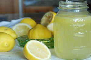 perdre 4 kilos-citron