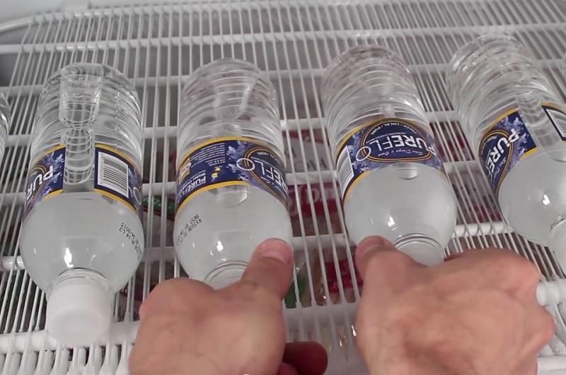 transformer l'eau en glace